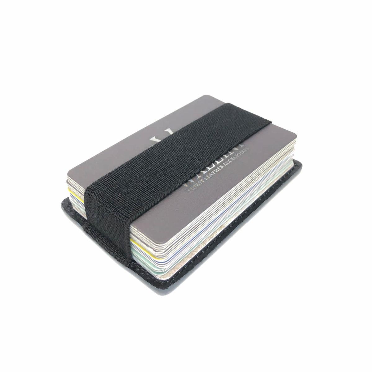 WALLINI Cardholder schwarz / petrol