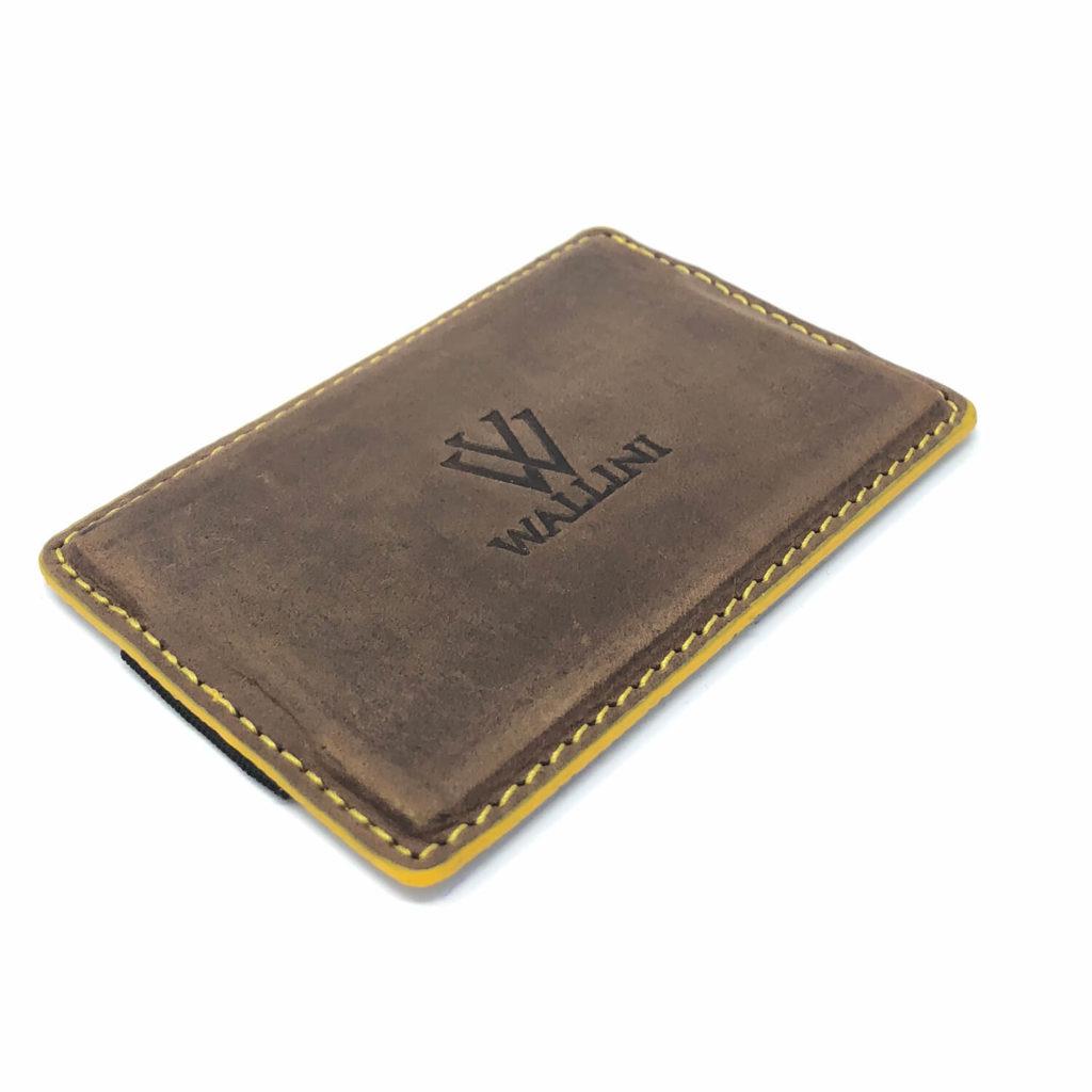 WALLINI Cardholder Umbra gelb