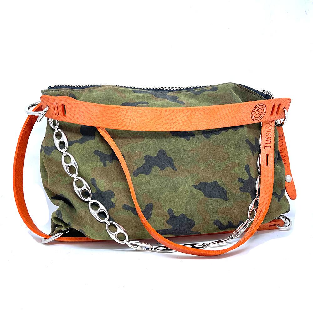 tussibag-orange-camouflage-leder-kette